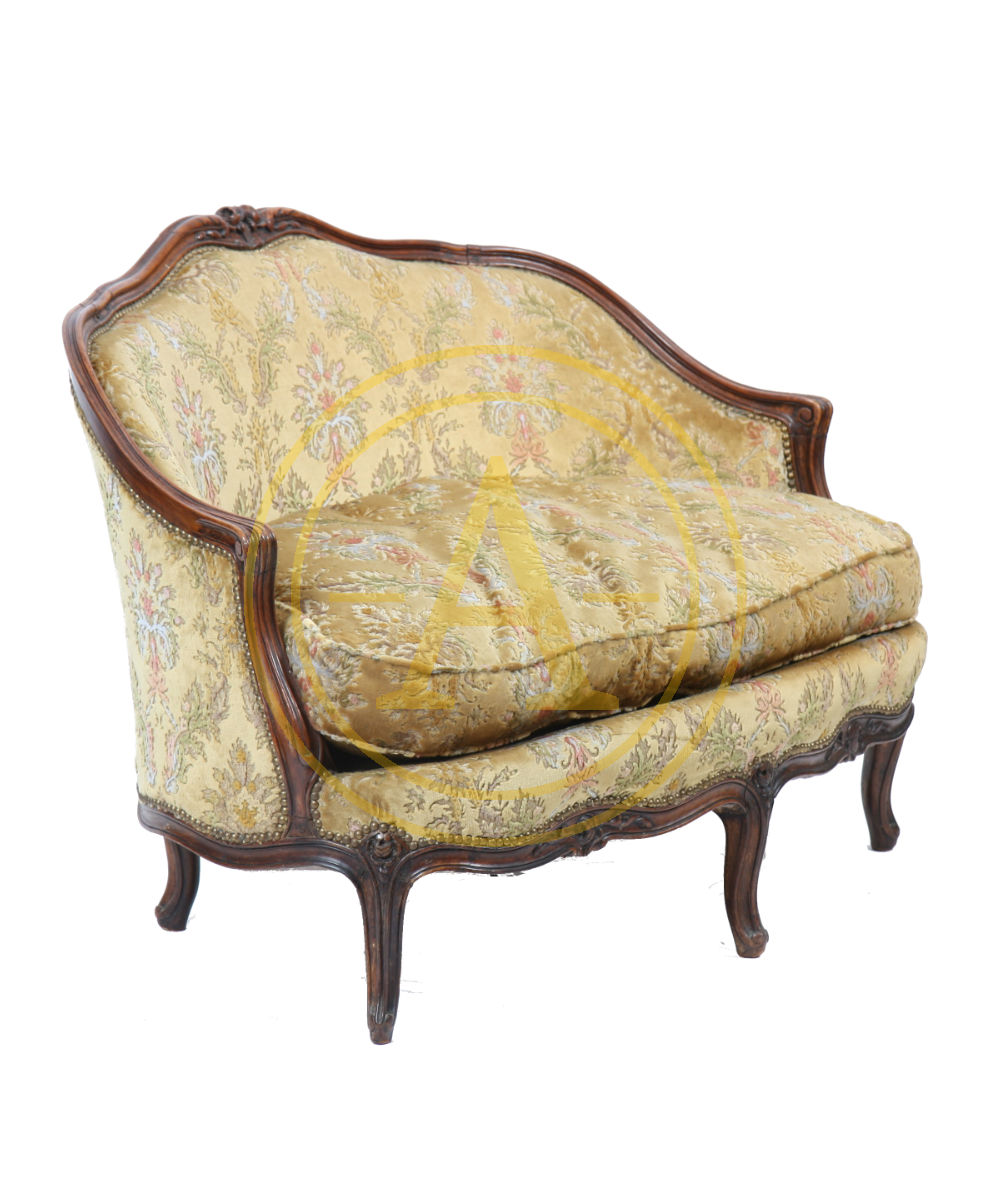 Rare Small Sofa Louis Xv As055 1