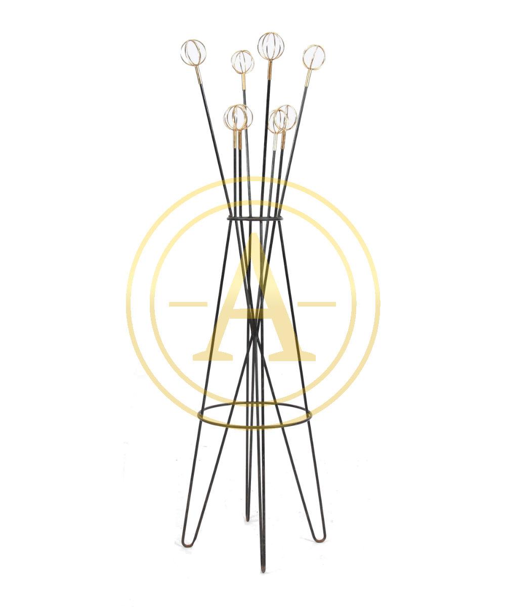 jean royere g o astrolabe porte manteau roger feraud. Black Bedroom Furniture Sets. Home Design Ideas